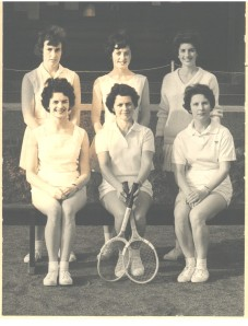Monifieth Tennis Belles 1930's