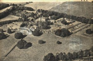 Ashludie Hospital from the air, 1960's