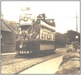 Coronation Tram 1913