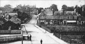 High Street from Railway Bridge c1904