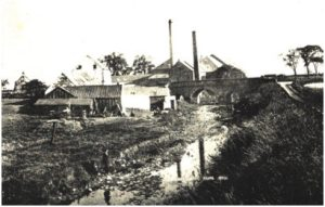 Milton Mill & Bridge circa 1900