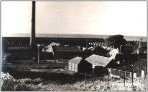 Monifieth Foundry from High St. Allotments 1950's