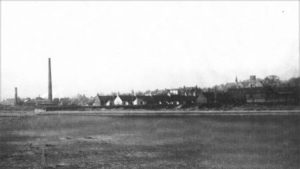 Monifieth from the sands, circa 1900