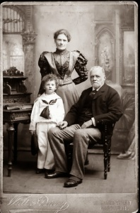 Ronald with parents