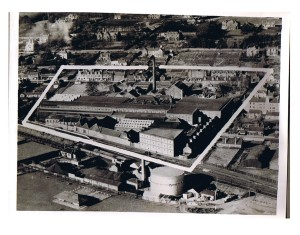 James F Low Foundry from the air