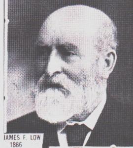 James F Low 1886