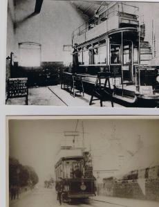 Milton Tram shed Tram -Tay Street
