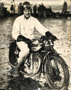 Motor Bike Racing on Monifieth beach was a great pre World War11 past time