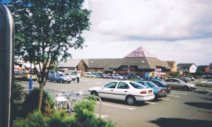 Tesco High Street Monifieth 2005 ( site 15 acres  previously James F Low Ironfoundry)