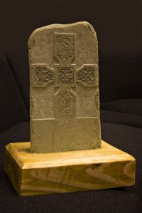 Replica of the Monifieth Pictish Stone