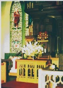 Inside Monifieth Parish Church