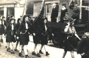 Guides Victory March End of WW11