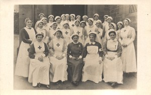 Nursing Staff at Red Cross Military Hospital